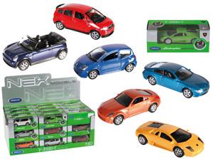 Modellauto Audi Bmw Porsche WELLY 1:60, NEU OVP Spielzeugauto 36 Stück Display
