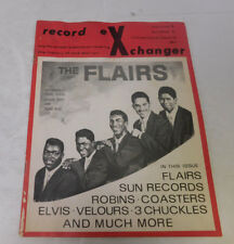 Record Exchanger Vol 3 #2 Issue #13 Feb 1973 -The Flairs, Elvis, The 3 Chuckles