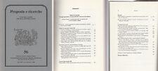 Storia locale Proposte e ricerche  n. 56 2006