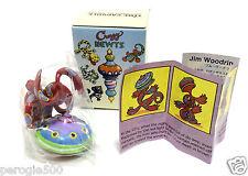 Jim Woodring Crazy Newts Time Capsule Art Toy Vinyl Figure 1950's NIB RARE 2001