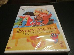 """DVD NEUF """"LES JOYEUX PIRATES DE L'ILE AU TRESOR"""" manga de Hiroshi IKEDA / dessin"""
