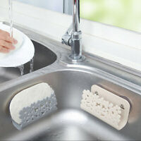 Kitchen Drying Rack Sink Sponges Suction Cup Dish Holder Scrubbers Soap St A8A