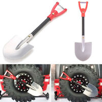 RC Crawler 1:10 Accessories Metal Shovel For RC SCX10 D90 Crawler Car Tool_ LI