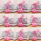 Crown Number Foil Balloons Digit Ballon Baby Birthday Party Wedding Decoration