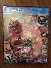 Ultimate Marvel Vs. Capcom 3 (Sony PlayStation 4, 2017)BRAND NEW Physical Disc