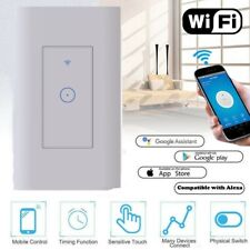 Smart WIFI Light Switch For Alexa Google Home IFTTT With Voice Remote Control US