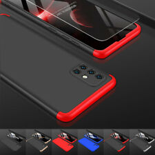 Handyhülle Hybrid Samsung Galaxy A51 A71 Full Cover Schutz Hart Case + HartGlas