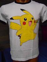 Mens Pokemon Pikachu Shirt New S, L, XL
