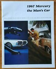 1967 Mercury Prestige sales brochure catalog booklet pamphlet folder with Cougar