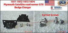 1971 1974 Satellite road runner GTX Charger Spring Loaded Hood Wedges B Body USA
