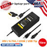 135W 20V 6.75A AC Power Supply Adapter Slim Tip For Lenovo Y40 Y50 Y70 ThinkPad