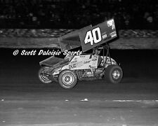 1988 Doug Wolfgang World of Outlaws 11 X 14 Ascot Sprint Car Photo