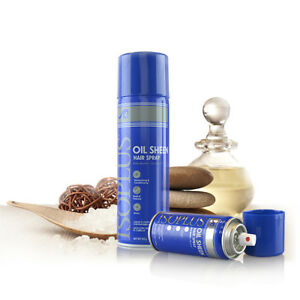 [ISOPLUS] OIL SHEEN HAIR SPRAY REGULAR MOISTURIZING SHINE VOLUME 7OZ
