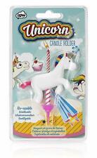 Unicorn Reusable Single Candle Holder Birthday