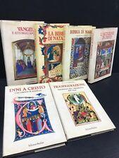 V13 EDIZIONI PAOLINE libri BIBBIA, VANGELO, TRASFIGURAZIONE anni 80