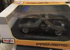 Maisto 2014 Corvette Stingray Police Car 1:18 Scale Diecast