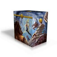 Heroes of Olympus Boxed Set, Hardcover by Riordan, Rick; Rocco, John (ILT), B...