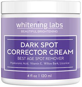 Dark Spot Corrector Face, Hands, Neck. Skin Dark Spot Remover Cream. Made in USA