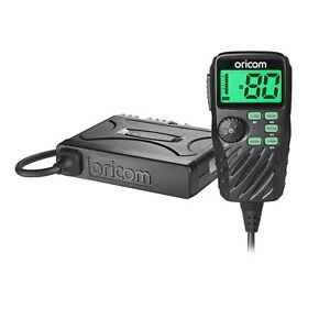 ORICOM UHF390 5 WATT 80 CHANNEL UHF RADIO WITH REMOTE MICROPHONE 5 YR WTY