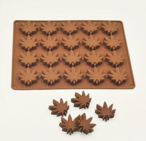 Marijuana Cannabis Hemp Leaf Silicone Moulds Candy Weed Pot Mold Chocolate Gummy