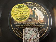 78rpm Léon Beyle - Le maitre chanteurs (Wagner) - Gramophone 32793