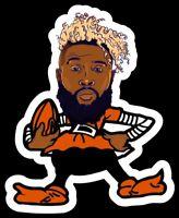 Odell Beckham Jr ELF MAGNET Cleveland Browns Player Custom  NFL OBJ