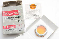 Polaroid #546 Orange Land Camera Photo Filter - NEW Old Stock G6