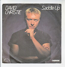 "David CHRISTIE Vinyl 45T 7"" SADDLE UP - The SIGNALS -CARRERE 49933 Frais Reduit"