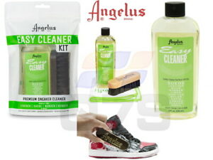 Angelus Brand Easy Cleaner Kit for Shoes Leather Suede Sneaker Shoe Cleaner Kit