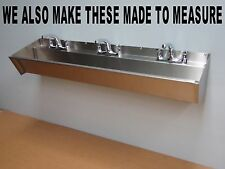 MADE TO MEASURE STAINLESS STEEL WASH TROUGH HAND WASH SINK SCRUB UP URINAL