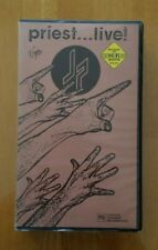 JUDAS PRIEST - LIVE - 1987 - MUSIC VHS VIDEO TAPE - EXCELLENT CONDITION