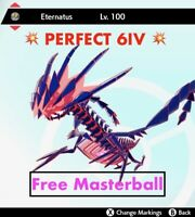 -Pokemon Sword and Shield- 💥Perfect  6IV💥Legendary Eternatus FAST DELIVERY