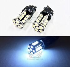 2x 3157 10W Super White LED Bulbs Bright 5050 30SMD Turn Signal/Brake/Tail Light