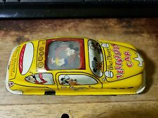 Marx Walt Disney Television Friction Car Tin