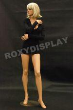 Female Fiberglass Mannequin Pretty Face Elegant Pose Dress Form Display Md Fr9