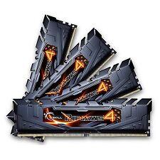 G.SKILL Ripjaws 4 series 32GB (4x8GB) 288Pin DDR4 DIMM 2800MHz F4-2800C16Q-32GRK