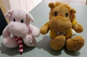 Ronald Mcdonald house Hippo and Lion soft toy plush Charity Ronald
