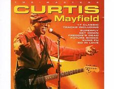 CD CURTIS MAYFIELD the masters EX 1997