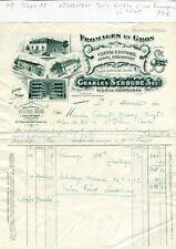 Dépt 15- Riom ès Montagne - Belle Entête Fromagerie Charles Seroude de 1911