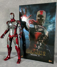 Hot Toys Iron Man 2 Mark V MMS 145 1/6 Scale Figure