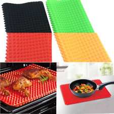 2020 Multi colour Non-stick Silicone Pan Baking Mat Cooking Oven Liner Tray AU