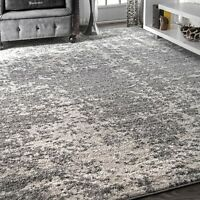 nuLOOM Contemporary Modern Abstract Deedra Area Rug in Grey Multi
