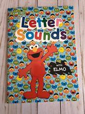 Sesame Street Letter Sounds With Elmo Workbook
