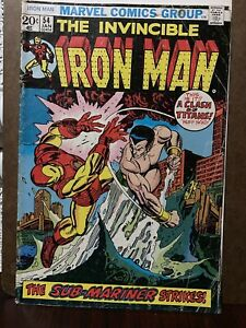 The Invicible Iron Man No 54