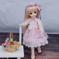 BJD Doll 30cm Gifts for Girl DIY Dolls with Clothes Handmade Beauty Toys Gift