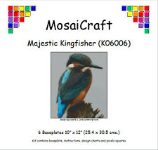 MosaiCraft Pixel Craft Art Kit 'Majestic Kingfisher' Pixelhobby