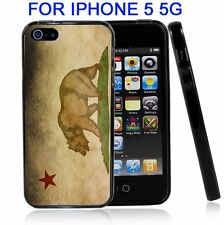 California Flag Grunge For Iphone5 5G Case Cover
