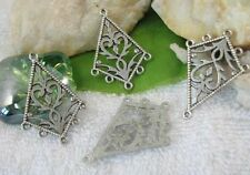 40PCS Tibetan Silver diamond 1to5 earring connector SM2281