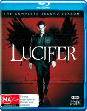 LUCIFER - COMPLETE SEASON 2-  Blu Ray - Sealed Region B