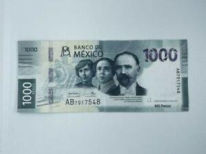 Mexico 1000 Pesos 2020 New Banknote AB Series